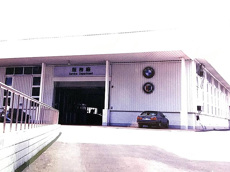 這曾經是全台最符合原廠標準的廠,因為跟 BMW 建廠規格書裡的設計圖一模一樣。